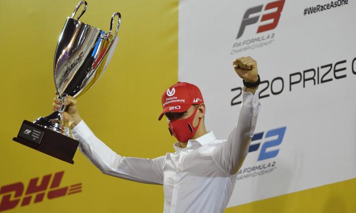 Formula 2 Championship Prize Giving Ceremony
