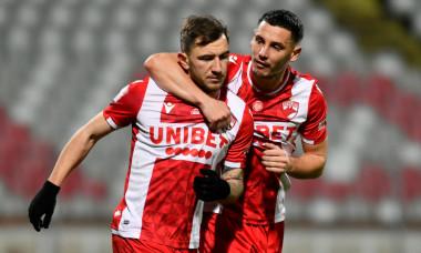 Deian Sorescu și Paul Anton, în meciul cu Poli Iași / Foto: Sport Pictures