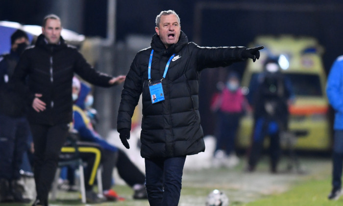Mircea Rednic, antrenorul de la Viitorul / Foto: Sport Pictures