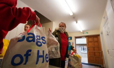 Campania umanitară lansată de Marcus Rashford / Foto: Getty Images
