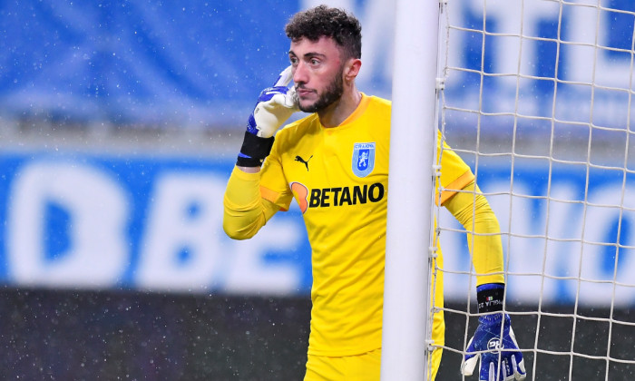 Mirko Pigliacelli, portarul Craiovei / Foto: Sport Pictures