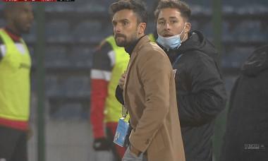 Ruben Albes, antrenorul lui Hermannstadt / Foto: Captură Digi Sport