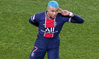 Paris: French L1 Football Match PSG - Lorient 2-0.