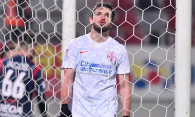 Sergiu Buș, atacantul de la FCSB / Foto: Sport Pictures