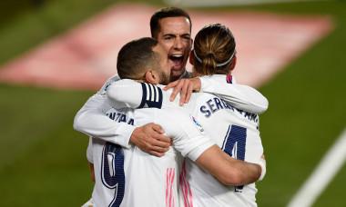 Fotbaliștii lui Real Madrid, în meciul cu Bilbao / Foto: Getty Images