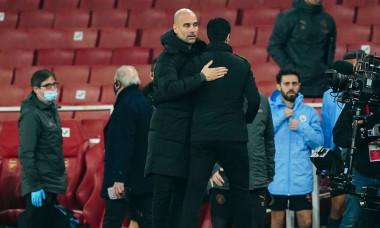 Arsenal v Manchester City, EFL Carabao Cup, Quarter Final, Football, The Emirates Stadium, London, UK - 22 Dec 2020