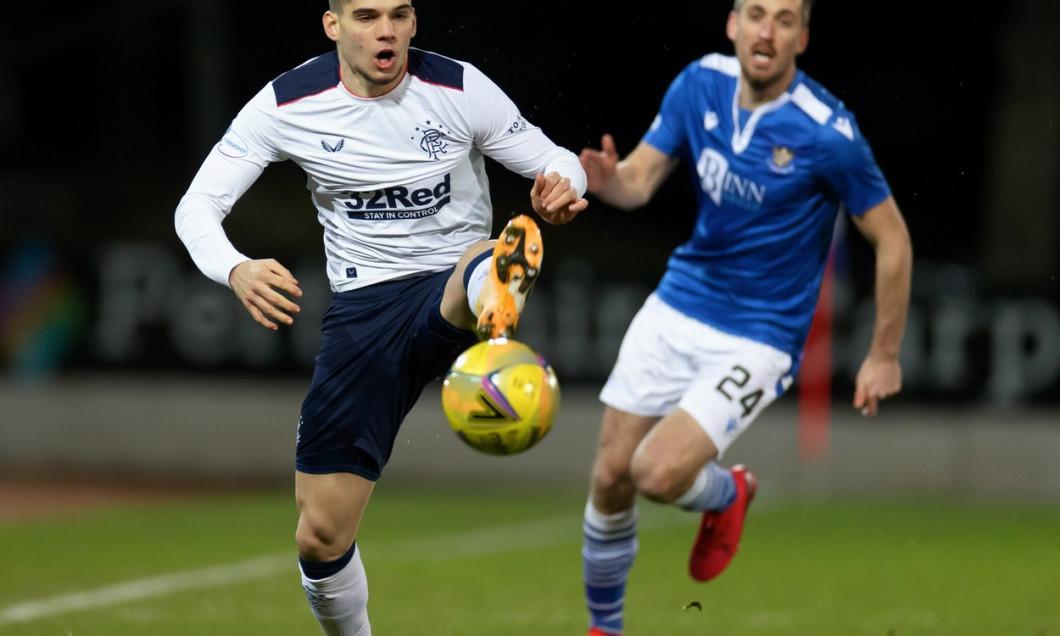 St Johnstone v Rangers - Scottish Premiership - McDiarmid Park