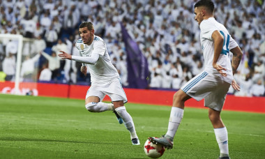 Real Madrid v Numancia, Copa del Rey, Round of 8