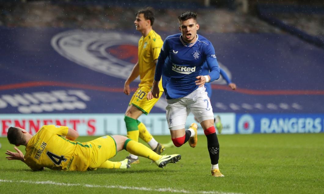 Rangers v Hibernian, Scottish Premiership, Football, Ibrox Stadium, Glasgow, Scotland, UK - 26 Dec 2020