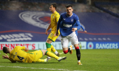 Rangers v Hibernian, Scottish Premiership, Football, Ibrox Stadium, Glasgow, Scotland, UK - 26 Dec 2020