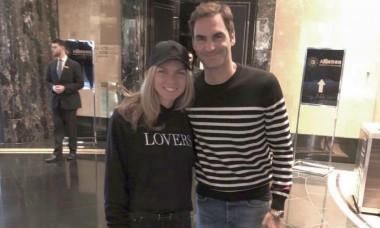 Halep Federer