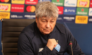 Head coach of FC Dynamo Mircea Lucescu gives press conference, Ukraine - 07 Dec 2020