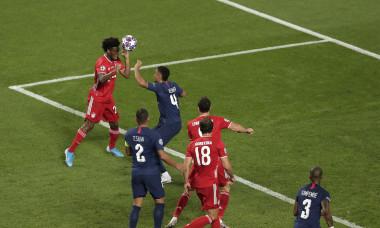 Momentul în care Kingsley Coman a marcat pentru Bayern Munchen în finala Champions League / Foto: Getty Images