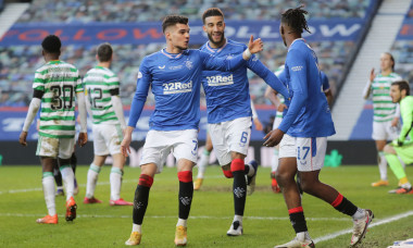 Rangers v Celtic, Scottish Premiership, Football, Ibrox Stadium, Glasgow, Scotland, UK - 02 Jan 2021