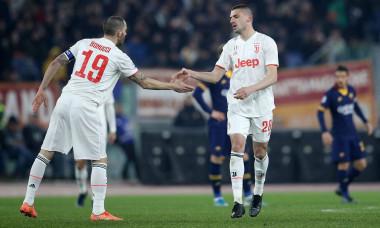 Merih Demiral și Leonardo Bonucci, stoperii lui Juventus/ Foto: Profimedia