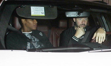 Serena Williams and husband Alexis Ohanian sneak outback after enjoying a dinner date in West Hollywood