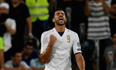 Graziano Pelle, în tricoul naționalei Italiei / Foto: Getty Images