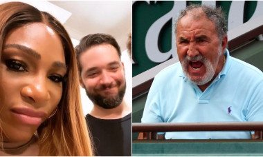 Serena Williams Alexis Ohanian Ion Ţiriac