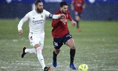 C.A. Osasuna v Real Madrid - La Liga Santander