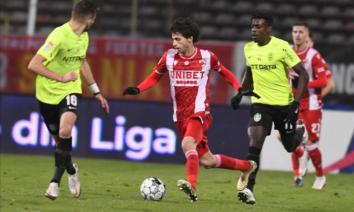 Diego Fabbrini, în meciul cu CFR Cluj / Foto: Sport Pictures