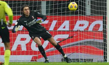 Ciprian Tătărușanu, în meciul Milan - Torino / Foto: Profimedia