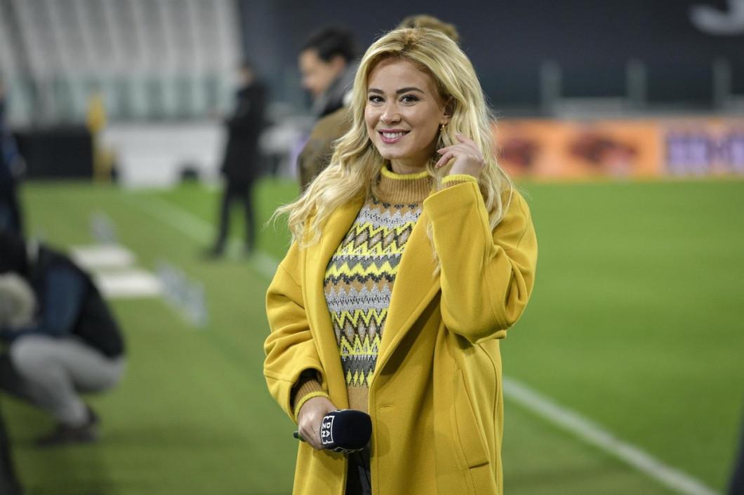 Diletta Leotta at the Lega Serie A Tim 2020/2021 match, Juventus Vs Udinese at the Allianz Stadium