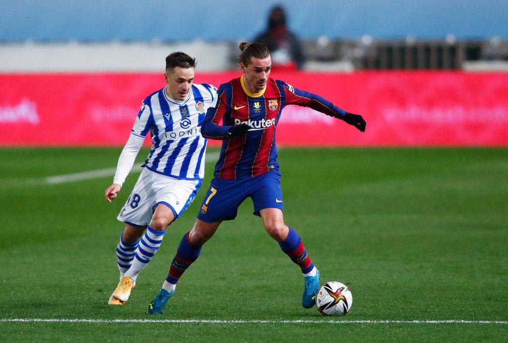 Supercupa Spaniei | Real Sociedad - FC Barcelona 1-1, ACUM, pe Digi Sport 1. Meciul a intrat în prelungiri