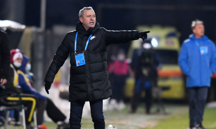 Mircea Rednic, antrenorul echipei Viitorul / Foto: Sport Pictures