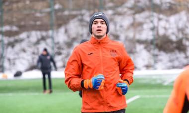 Ionuț Rus, la un antrenament la CFR Cluj / Foto: Facebook@Fotbal Club CFR 1907 CLUJ-NAPOCA