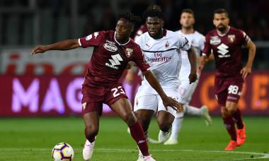 Soualiho Meite, într-un meci AC Milan - Torino / Foto: Getty Images