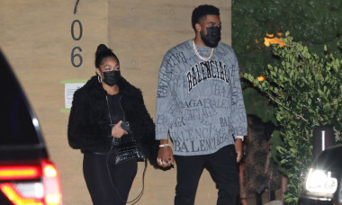 Jordyn Woods And NBA Beau Karl-Anthony Towns Hold Hands On Date Night In Malibu