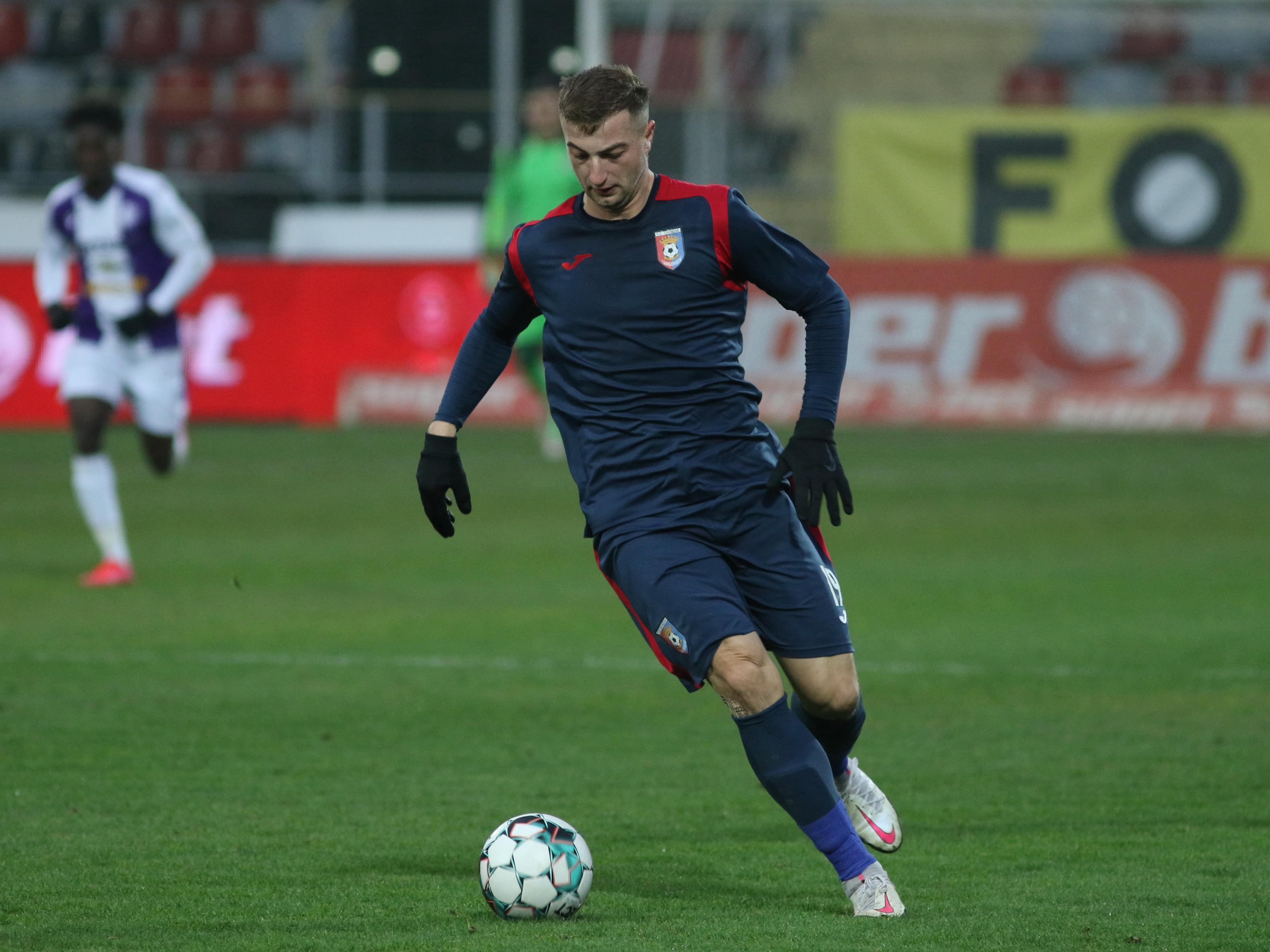 Daniel Popa, one-man show în Chindia - Academica Clinceni. Atacantul alungat de Dinamo, decisiv la două goluri