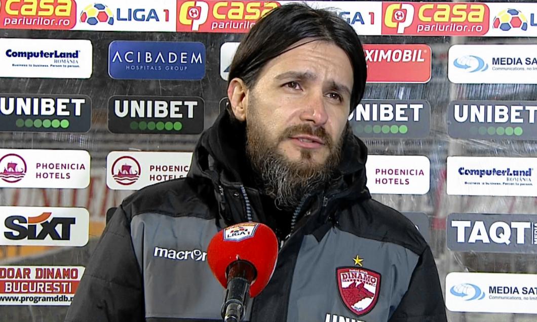 Marius Nicolae, managerul sportiv al lui Dinamo / Foto: Captură Digi Sport.