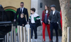 Victoria Beckham show, Departures, Fall Winter 2019, London Fashion Week, UK - 17 Feb 2019