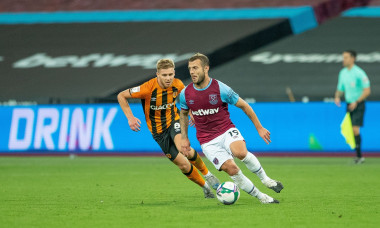 West Ham United v Hull City, Third Round, EFL Cup, Football, London Stadium, Stratford, London, UK - 22 Sep 2020