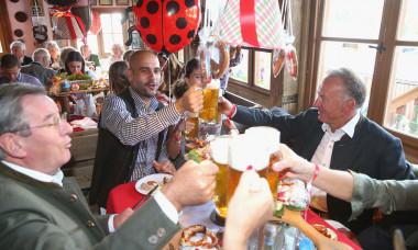 Football: Germany 1. Bundesliga FC Bayern Munich Bavarian Oktoberfest 2015