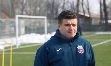 Daniel Oprița, antrenorul principal al Stelei / Foto: Facebook@steauatvofficial