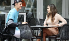 *EXCLUSIVE* Vanessa Sierra & Bernard Tomic at Brisbane tennis Centre