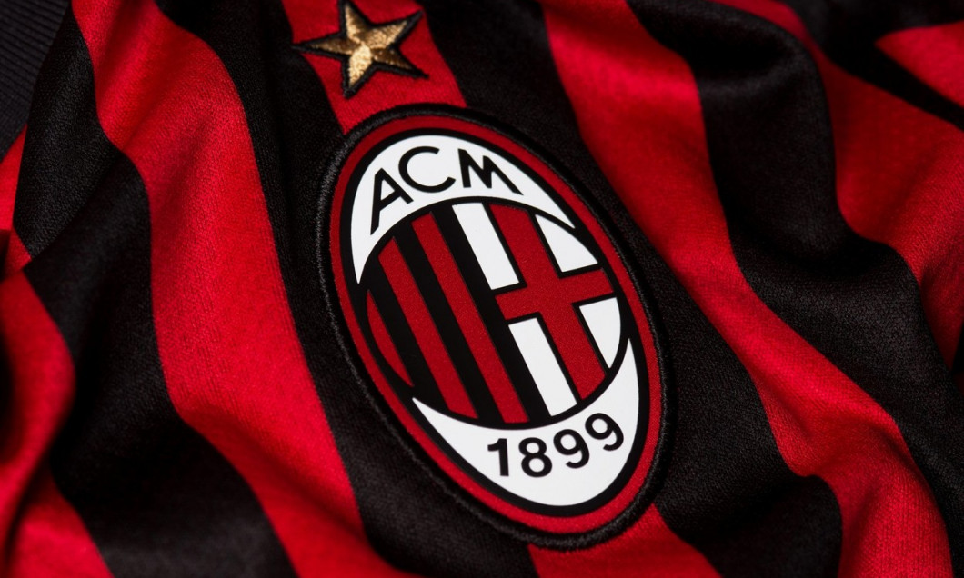 Close up of AC Milan jersey 2019/20