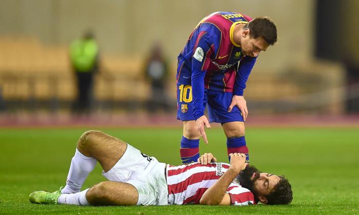 FC Barcelona vs Athletic Club, Spain Super Cup final. Football, Olímpico de La Cartuja Stadium, Sevilla, Spain - 17 JAN 2021
