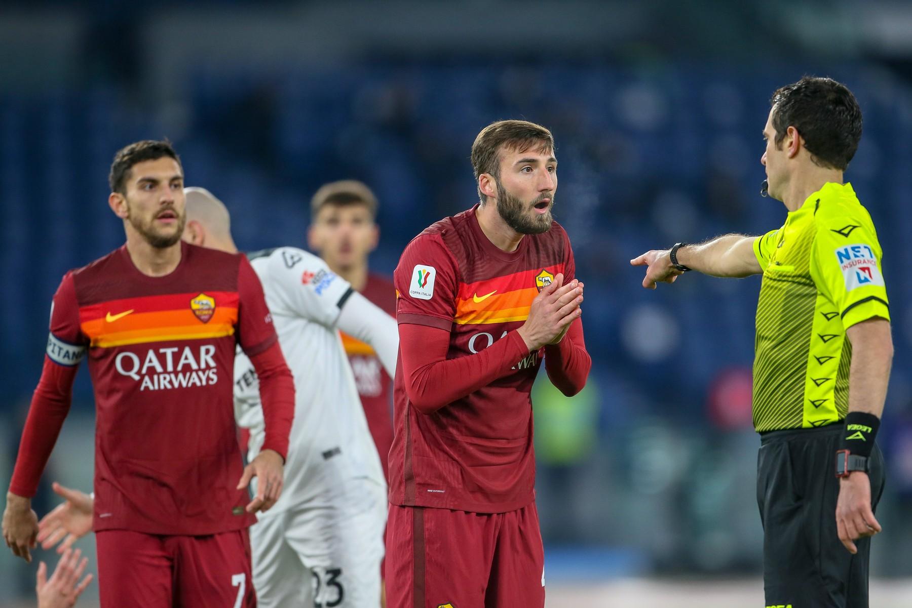 """O nouă gafă uriașă. AS Roma a pierdut cu 0-3 la """"masa verde"""" meciul cu Spezia din Cupa Italiei"""