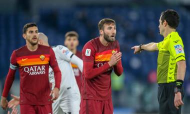 AS Roma v AC Spezia, Coppa Italia, football, Olympic Stadium, Rome, Italy - 19 Jan 2021