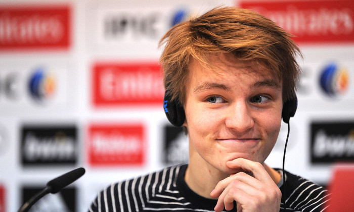 Martin Odegaard Officially Unveiled At Real Madrid