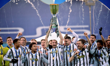 (SP)ITALY REGGIO EMILLIA FOOTBALL SUPER CUP FINAL JUVENTUS VS NAPOLI
