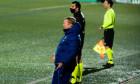 Ronald Koeman, antrenorul Barcelonei, în timpul meciului cu Cornella / Foto: Profimedia