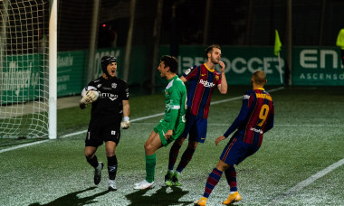 (SP)SPAIN CORNELLA SOCCER SPANISH KING'S CUP UE CORNELLA VS BARCELONA