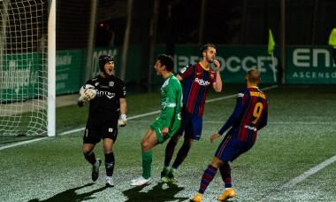 (SP)SPAIN CORNELLA SOCCER SPANISH KING'S CUP UE CORNELLA VS BARCELONA