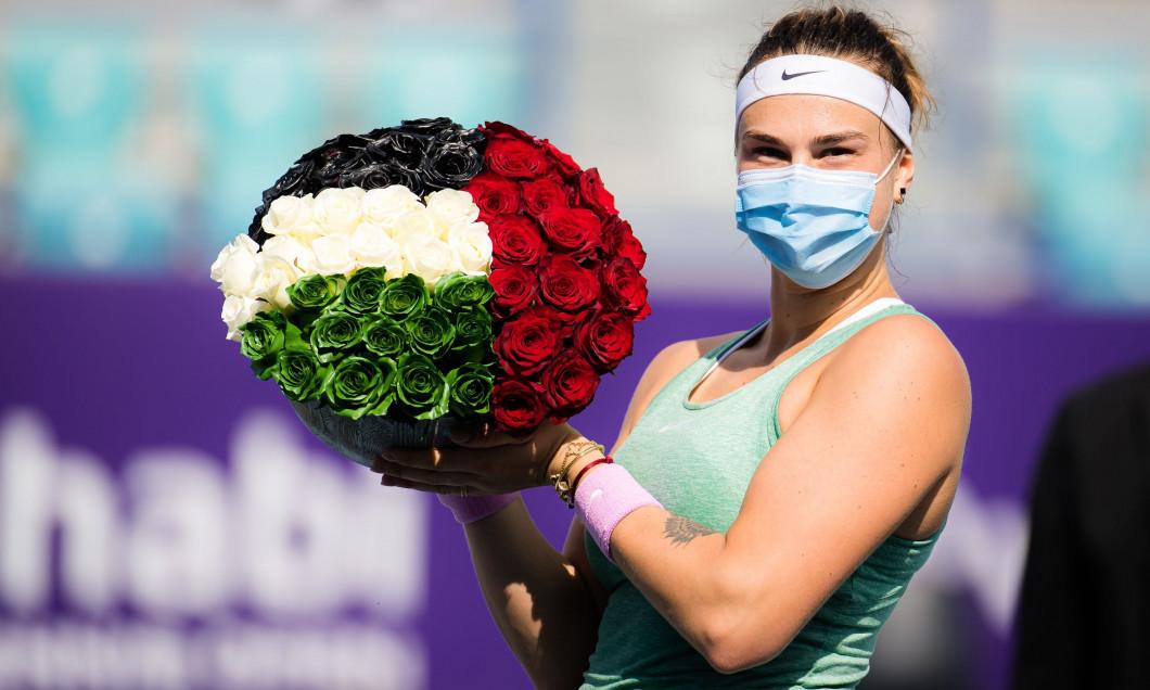 Abu Dhabi WTA Women's Tennis Open, International Tennis Centre, Abu Dhabi, United Arab Emirates - 13 Jan 2021