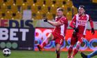 Adam Nemec, atacantul lui Dinamo, într-un meci cu Academica Clinceni / Foto: Sport Pictures