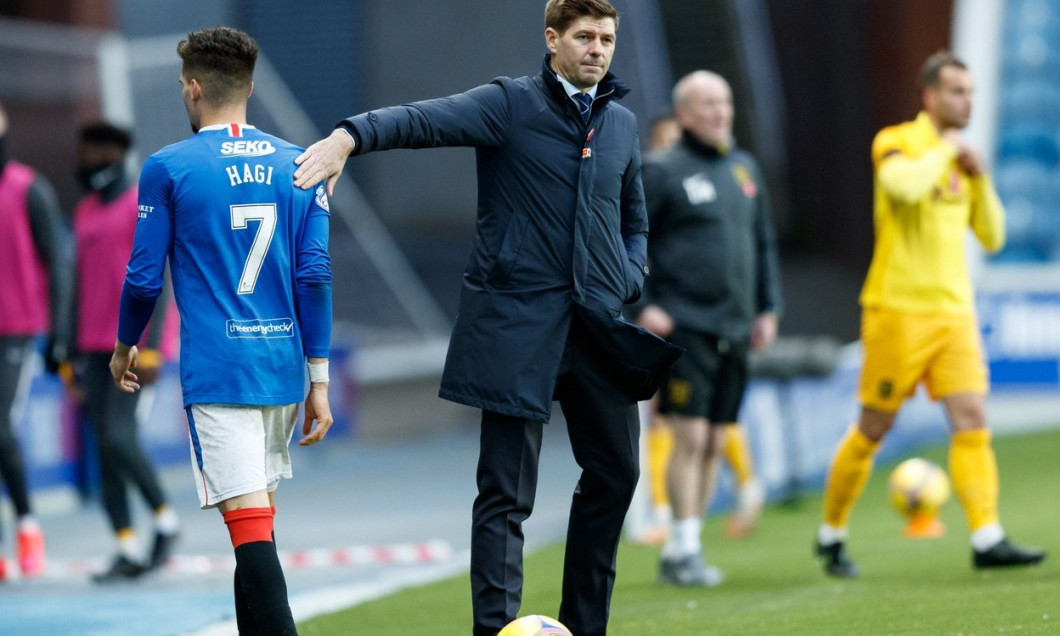 Rangers v Livingston, Scottish Premiership, Football, Ibrox Stadium, Glasgow, Scotland, UK - 25 Oct 2020